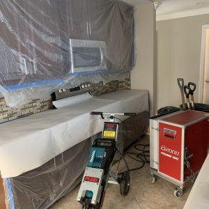 Tile Removal Prep